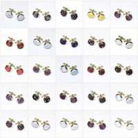 Wholesale Cufflinks Sleeve buttons Cuff links Cuff button mixed designs Cuff links pairs men s Jewelry
