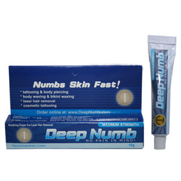 Wholesale 10pcs Deep Numb g tattoo numbing cream for Tattoo Body high quality tattoo numb cream tattoo kits