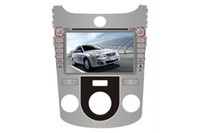 Wholesale 8 quot In Dash Car DVD Player for Kia Cerato Manual Air Conditioner Version with GPS Radio Bluetooth TV