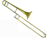 best trombones - best music Student New HY L Children Alto Trombone Eb Key Horn In Case in stock