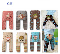 6-9 Months Multi-Color boys and girls hot sale busha nurseling pants baby Pants baby clothing baby wear baby trousers the baby PP pants