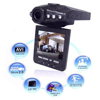 Wholesale H198 TFT LCD Car DVR degree wide view angle LEDS IR and night vision