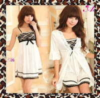 Wholesale dress robes hot sexy spicy underwear lingerie sleepwear nightgown pyjamas women Robe
