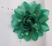 Wholesale wedding gifts Flowesr hair clip Brooch weeding fhair flower new hair accessories