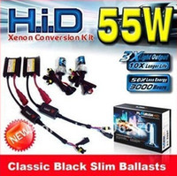 Wholesale 12V AC W HID Slim Conversion Kit H1 H3 H4 H7 H11 HID kit Xenon great help