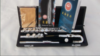 Nickel Silver Silver Plated Nickel Silver best Tube bending flute children flute double headjoints silver plated + E key