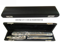 Wholesale Professional sino us joint C tone closed pore nickel plating flute and E key B tail key music col