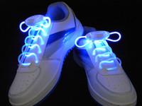 Wholesale Abar colors LED Light UP Shoelaces Disco Flash Lite Glow Stick Dance ggd NEON pairs