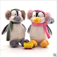 nici - 2012 plush toy cute lover quot NICI penguin doll wearing scarf stuffed toy birthday gift