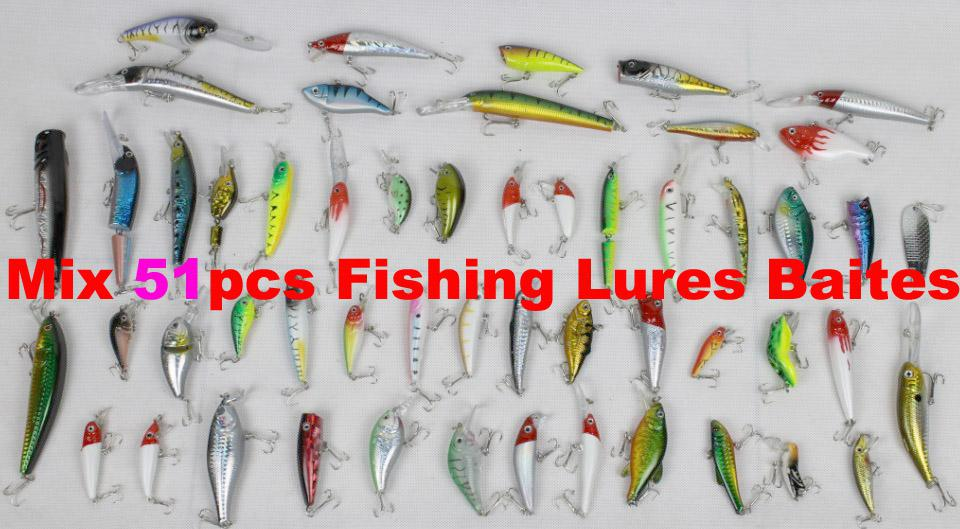 high quality mix sea river fishing hard lures bait fishing lure, Fly Fishing Bait