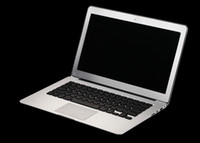 Wholesale HOT inch Notebook laptop pc LED LCD screen Metallic silver GB SSD G intel Autom N2800