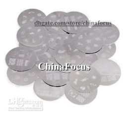Wholesale Nail Art Stamping Metal Plate Stainless Steel Image Plate Designs