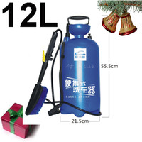 Wholesale 12L Portable car washing set cleaning set less water more convinent