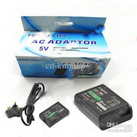 Wholesale AC Adaptor EU Plug Charger For PS Vita PSV PSVITA V DC V mA