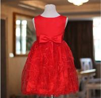 Cheap Model Pictures wedding dress Best Girl Christening princess dress