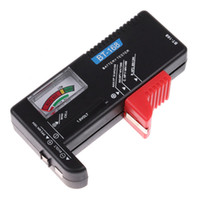 Pointer aa battery checker - Universal battery checker tester AA AAA C D V Button H1274 black