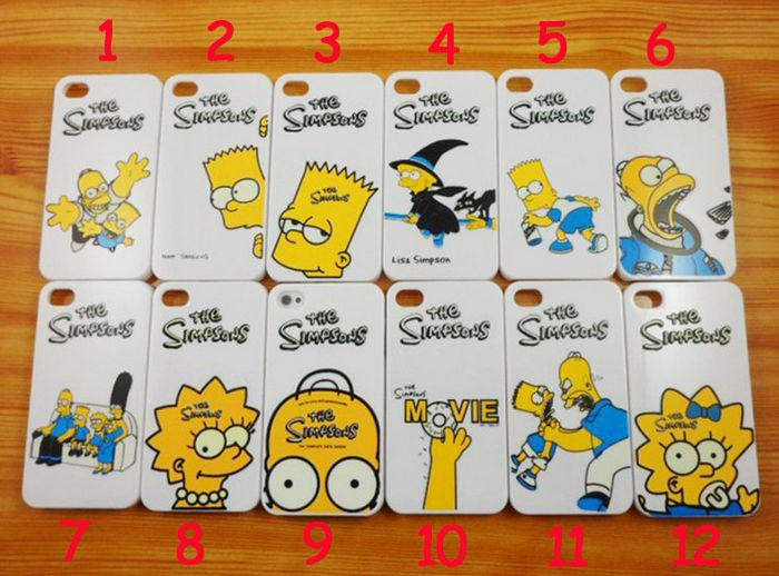 Case Simpsons Iphone 4 Case Cover For Iphone 4 4s
