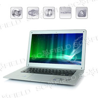 Wholesale Original Inch Intel Atom Dual Core D2500 Win7 Win Windows RAM G G ROM Laptop Netbook Silver