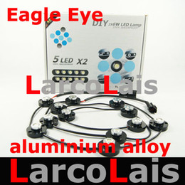 2x6 LED Super Bright 12W Rascal Lamp DIY DRL Foglight Reverse Tail Stop Eagle Eye Light White