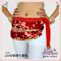 Belly Dance Chiffion Hip Scarf Belly Dance Belt N029
