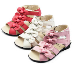 Wholesale Hot Girl sandals Baby nice summer shoes girl anti slipping sandal shoes pairs
