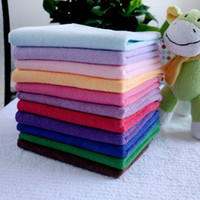 Wholesale Microfiber Car Cleaning Cloth Superfine fiber Detailing Polishing Scrubing Waxing Towel x70