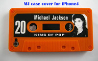 50pcs Cool New Michael Jackson MJ tape style silicon cover c...