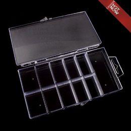Wholesale Hot Brand New Nail Art Tools Empty French False Nail Art Tips Box Case Tool X02