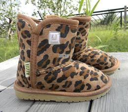 Wholesale Children s Snow Boots Cheap Kids Shoes LJ Unisex Boots Warm Stable Winter Hardwearing Shoes colors