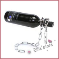 Wholesale MOQ Wine Bottle Holder Magic Chain Stand Rack Perfect Gift FREE CPAM