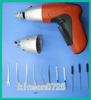 Wholesale 2012 New Cordless Pick Gun super items locksmith tool rechargeable electric pick