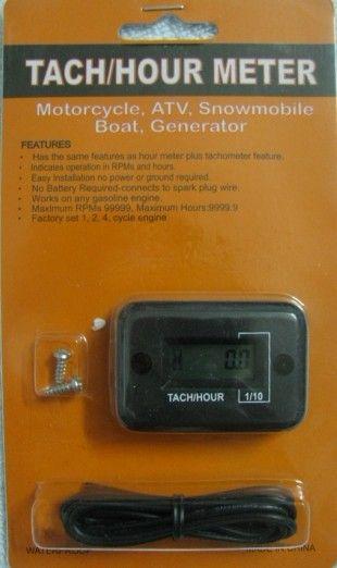 Honda Hour Meter : Digital tach hour meter for snowmobile boat honda