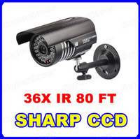 Wholesale Home CCTV DVR Security Video Camera Bullet X IR Night Vision MM Wide Angle Waterproof Outdoor