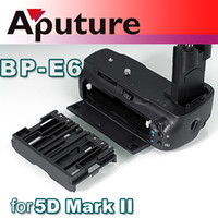 Wholesale Aputure DSLR camera professional Battery Grip for Canon EOS D Mark II BP E6