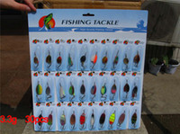 Wholesale New arrival Fishing spoon Spinner Fishing Lures Plastic lures Hard lure