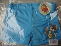 Boy Swim Trunks 2-8 yrs kids boys swimsuits swimwear swim swimming trunks with tag TOM JERRY blue