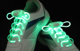 NEW COOL SHOE flash LED Lighting Glow Lacets Lacets DISCO partie de patinage à partir de discothèque clignotant conduit fournisseurs
