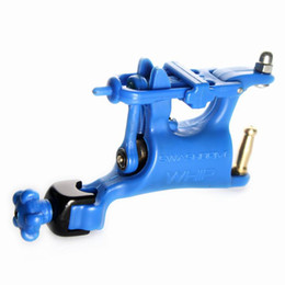 Wholesale Blue Butterfly Swashdrive WHIP Rotary Tattoo Machine For Kits Needle Ink Tubes Shader amp Liner Supply