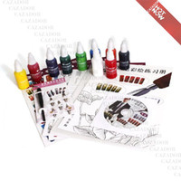 Wholesale Brand New Color Fountain Pen Painting Pigment Fountain Pen For Nail Art J20
