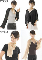 Wholesale Fashion Women Thin Soft Cute Scarf Neck Wrap Long Shawl anti uv magic sun against summer essential