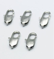 Wholesale 20pcs Strong Stainless Steel mm Lobster Clasps Suit for DIY Necklace