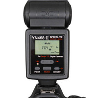 Wholesale YN468II YN II Flash Speedlite Use Wide angle Diffuser Zoom Range mm mm mm mm mm