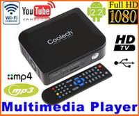 Wholesale Android P HD Media player Streaming Multi Media TV Box WiFi Youtube LeTV ITV HDMI USB SD MMC