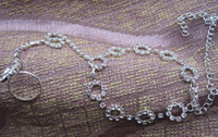 Wholesale rhinestones anklet chain with toe ring colors whosales