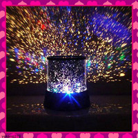 Wholesale Retail Star LED Projector Lamp Sleep Spotlights Indoor Lighting Sky Night Lights Children Gifts