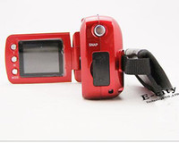 Wholesale 10Pcs MP inch TFT LCD Digital Video Camera X Zoom MP With LED Flash Light With Box