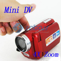 Wholesale inch LCD Digital Video Camera Camcorder X Zoom with LED Flash Light Mini DV139
