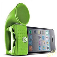 Wholesale Hot New Horn Stand for iPhone4 Bone Collection Amplifier optional color available