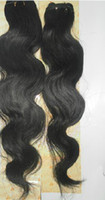 Wholesale High quality inch Brazilian Virgin human Hair Weft Human hair extensions g pc
