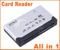 Wholesale Hot sales USB ALL IN Multi CARD READER SD XD MMC MS CF SDHC